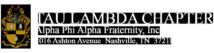 Tau Lambda Portal